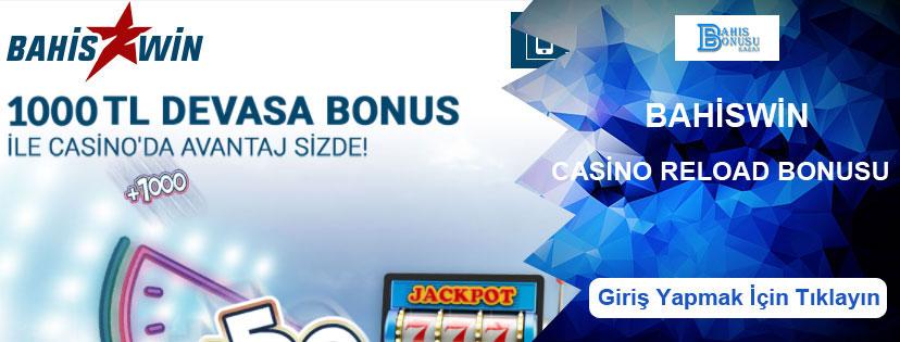 Bahiswin Haftalık Netent Casino Reload Bonusu